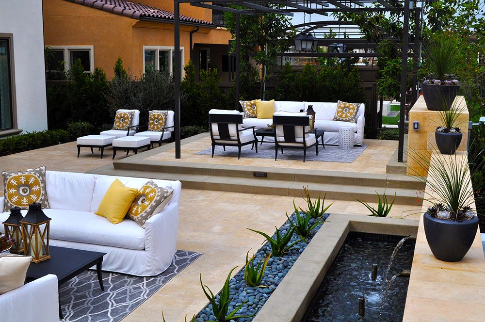Model home furniture in san diego